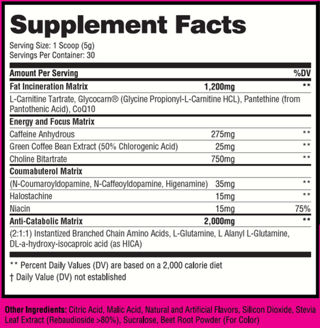 Musclesport Cardioburn Weight loss supplement for women