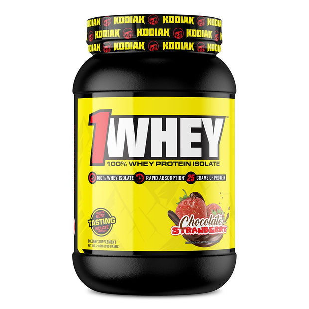 Kodiak Supplements 1Whey Protein Chocolate Strawberry