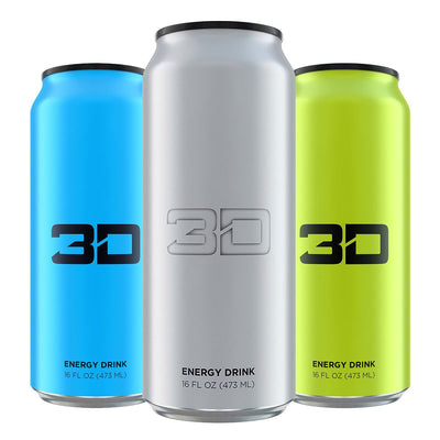 3D Energy Drink Christian Guzman Youtube