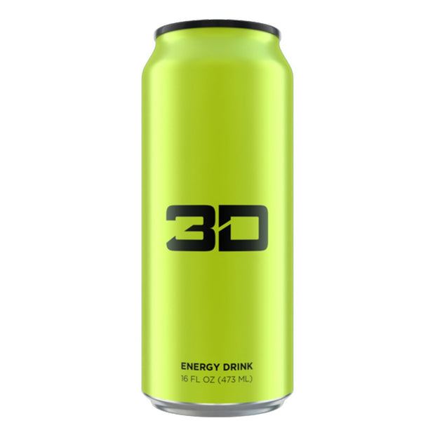 3D Energy Drinks Green