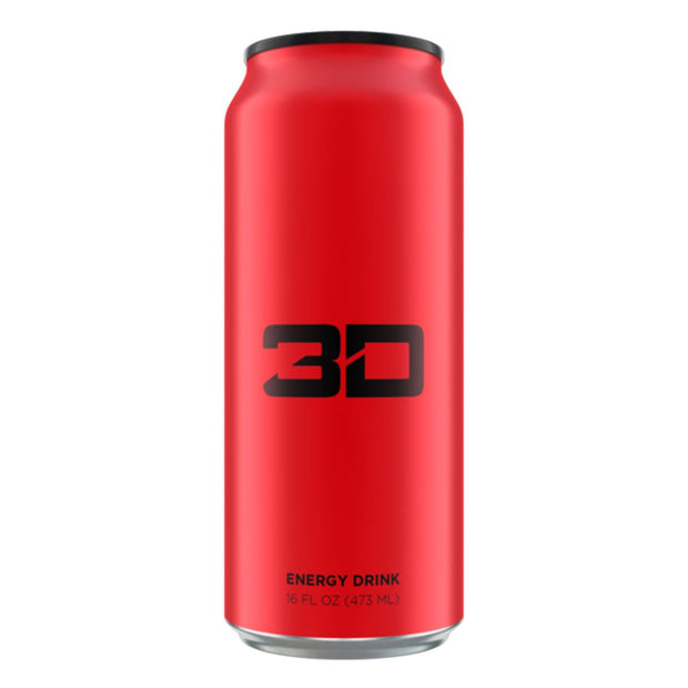 3D Energy Drinks Red