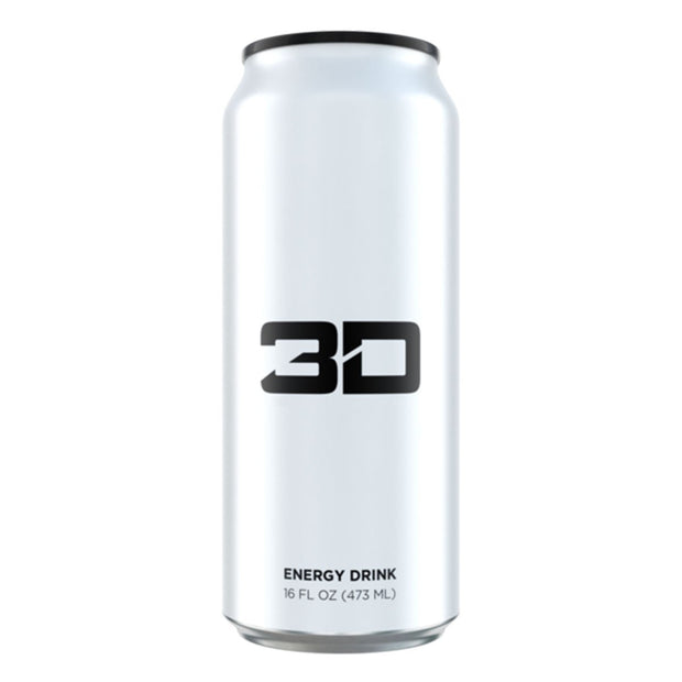 3D Energy Drinks White