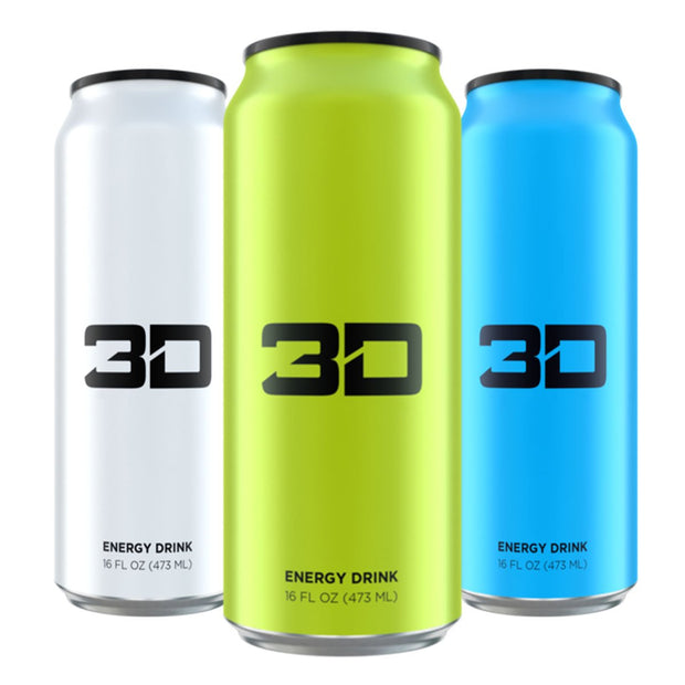 3D Energy Drinks
