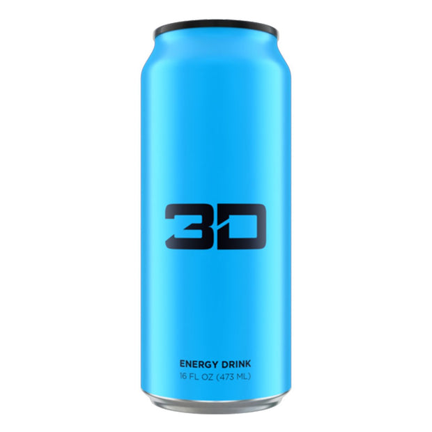 3D Energy Drinks Blue