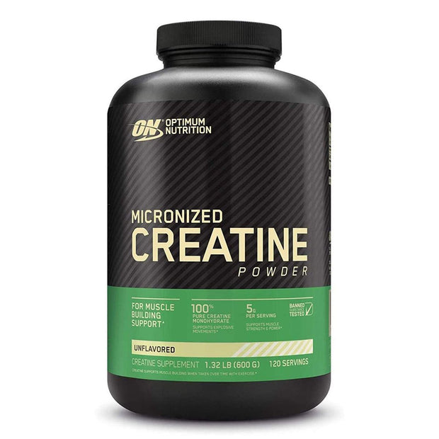 ON Optimum Nutrition Unflavored Micronized Creatine Powder Supplement (monohydrate)