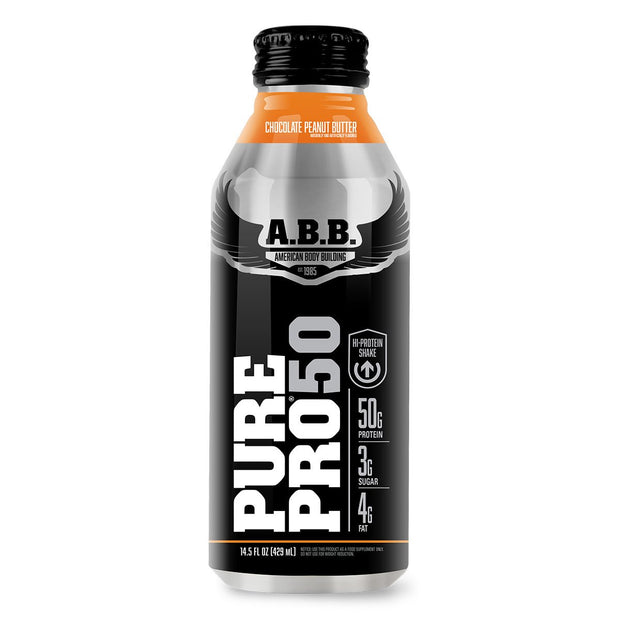 American Bodybuilding ABB Pure Pro 50 Chocolate Peanut Butter