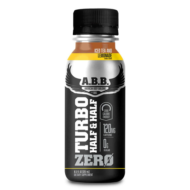 American Bodybuilding ABB Turbo Tea Zero Iced Tea and Lemonade