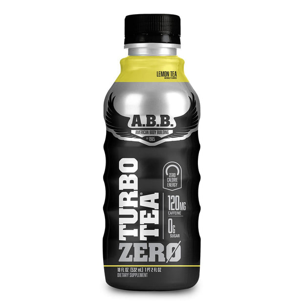 American Bodybuilding ABB Turbo Tea Zero Lemon Tea