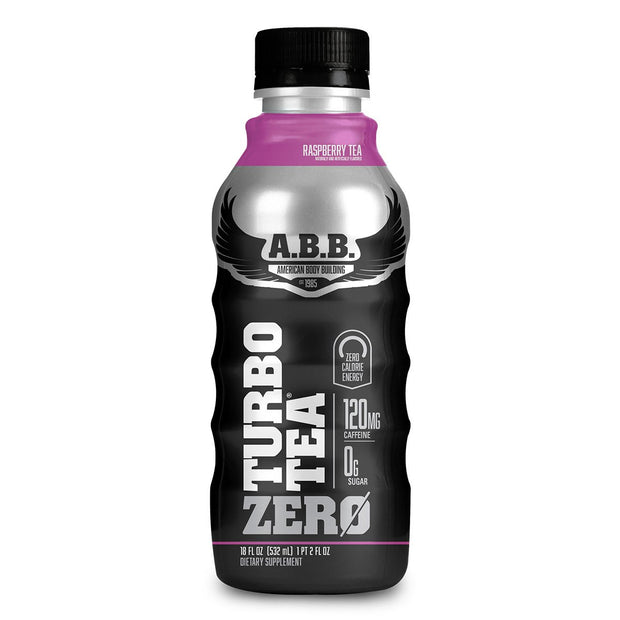 American Bodybuilding ABB Turbo Tea Zero Raspberry Tea