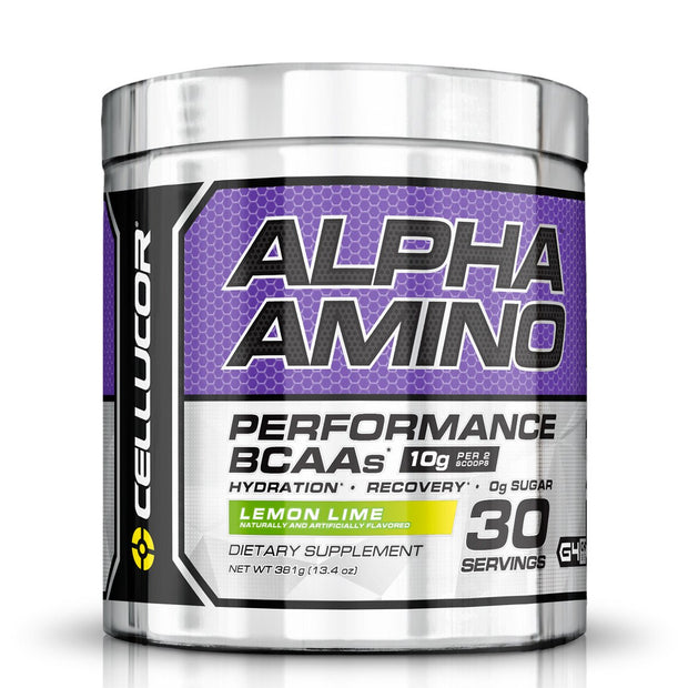 Cellucor Alpha Amino BCAA's Lemon Lime