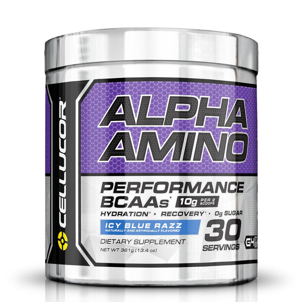 Cellucor Alpha Amino BCAA's Icy Blue Razz
