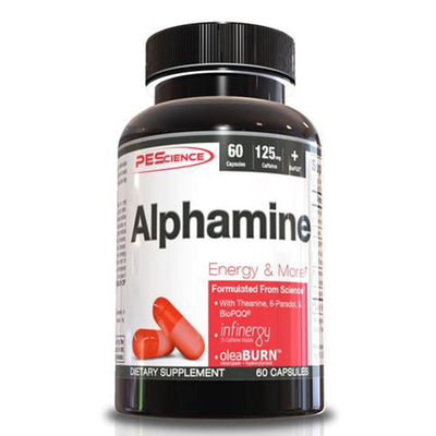 PEScience PES Alphamine Energy and Weight Loss Capsules