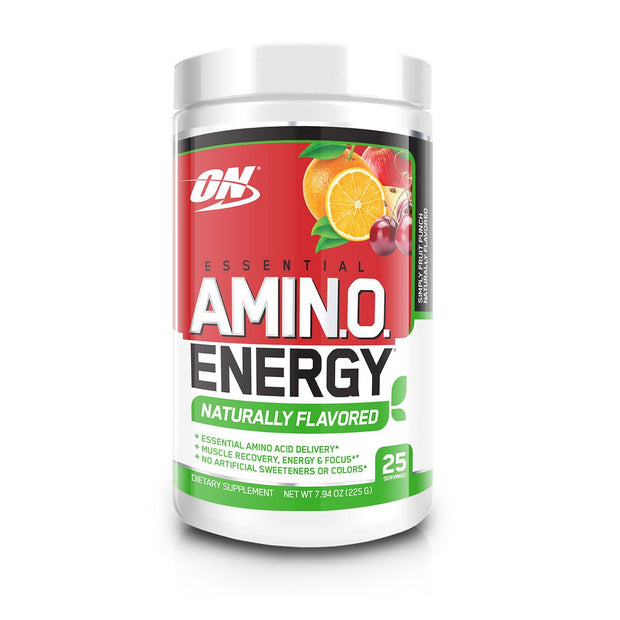Optimum Nutrition Amino Energy Naturally Flavored Fruit Punch