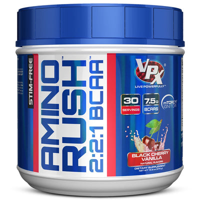 VPX Amino Rush 2:1:1 BCAA Black Cherry