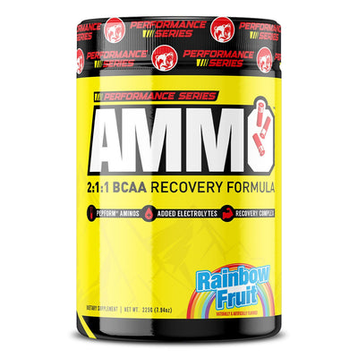 Kodiak Supplements AMMO BCAA Amino Acid Performance Series Rainbow Fruit