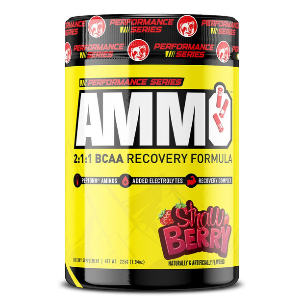 Kodiak Supplements AMMO BCAA Amino Acid Performance Series Strawberry