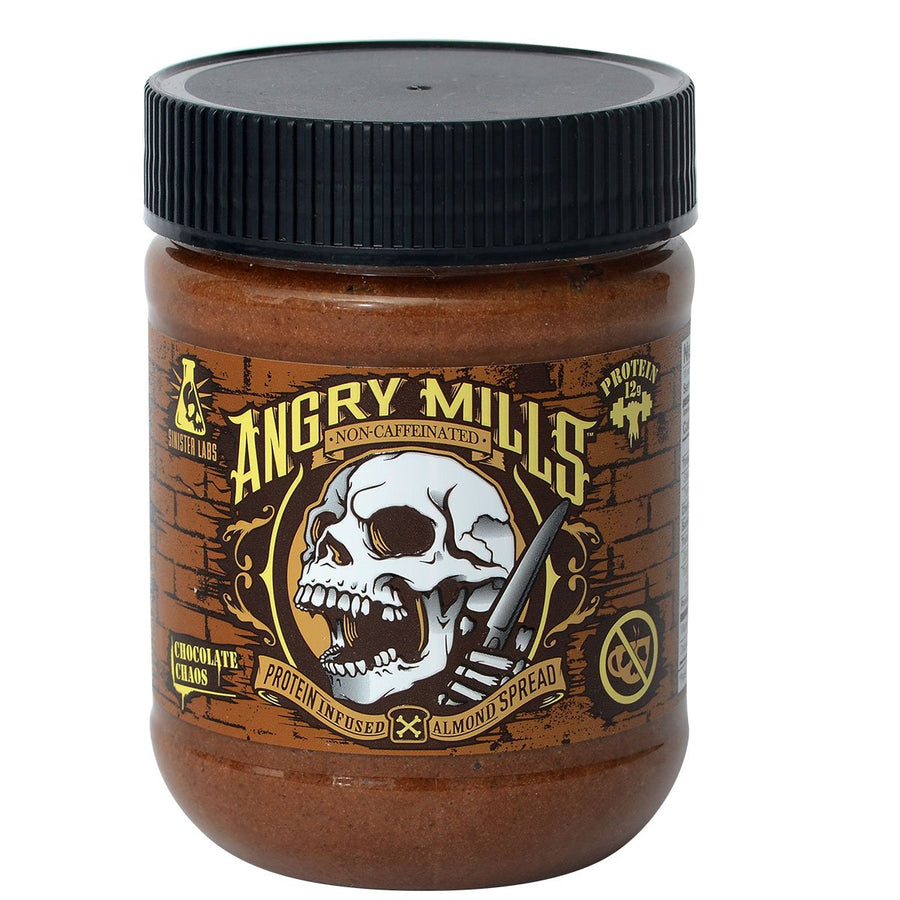 Sinister Labs Angry Mills Nut Spread Caffeinated
