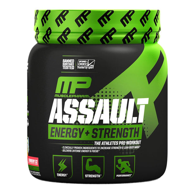 Musclepharm Assault Strawberry Ice