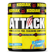 Kodiak Supplements Attack Pre Workout Rainbow Fruit