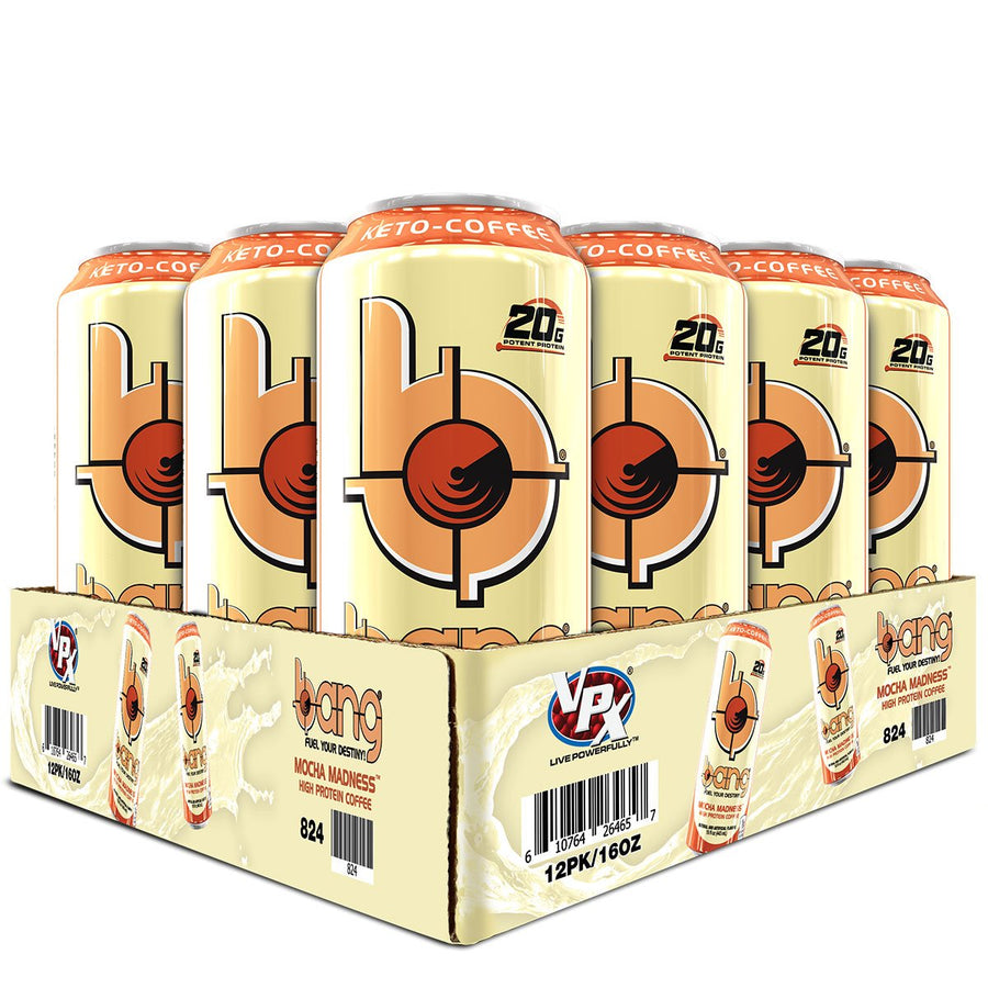 VPx Sports BANG Energy Keto Coffee