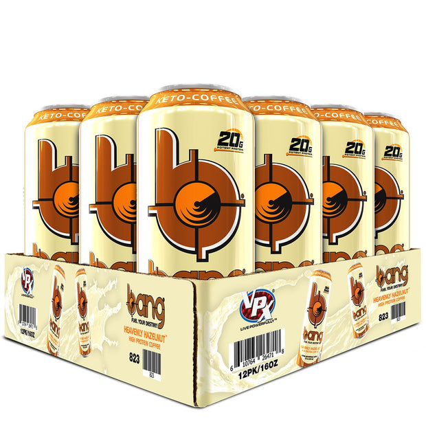 VPx Sports BANG Energy Keto Coffee Heavenly Hazelnut