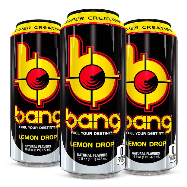 VPx BANG Energy Pre Workout Lemon Drop