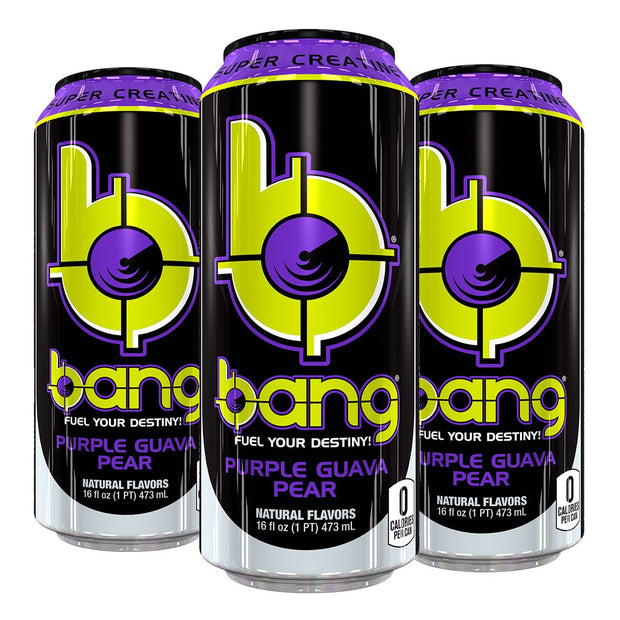 VPx BANG Energy Pre Workout Purple Guava Pear