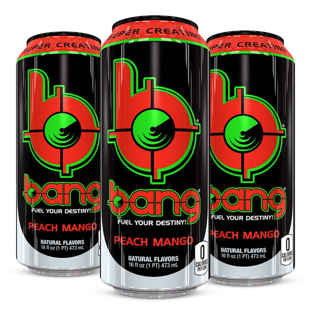 VPx BANG Energy Pre Workout Peach Mango