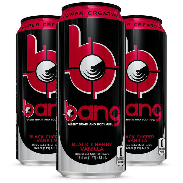 VPX BANG Energy Drink Black Cherry Vanilla