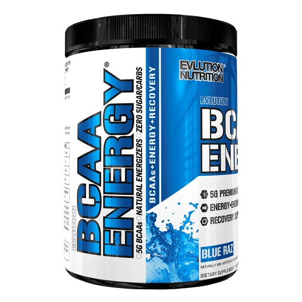 EVL Nutrition BCAA Energy Blue Raz