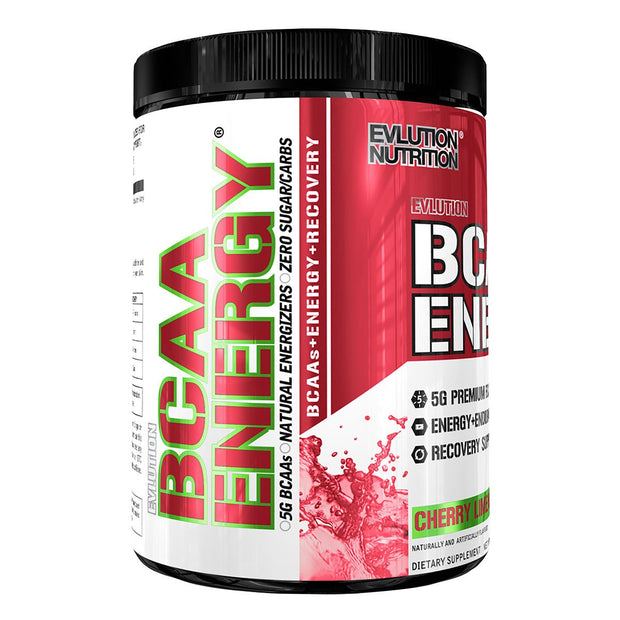 EVL Nutrition BCAA Energy Cherry Lime