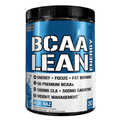 EVL Nutrition BCAA Lean Energy Blue Raz