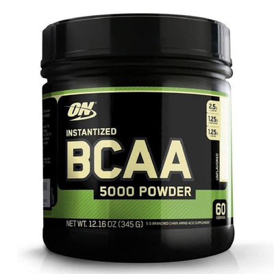 Optimum Nutrition Instantized BCAA 5000 Powder Unflavored