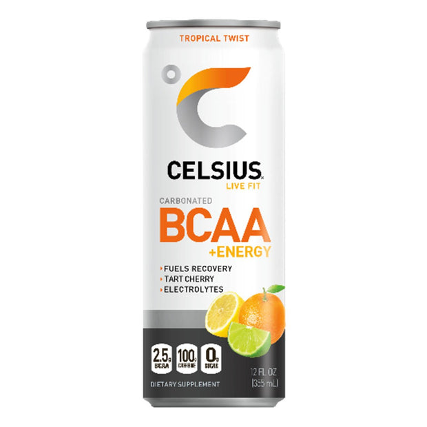 Celsius BCAA plus Energy Tropical Twist