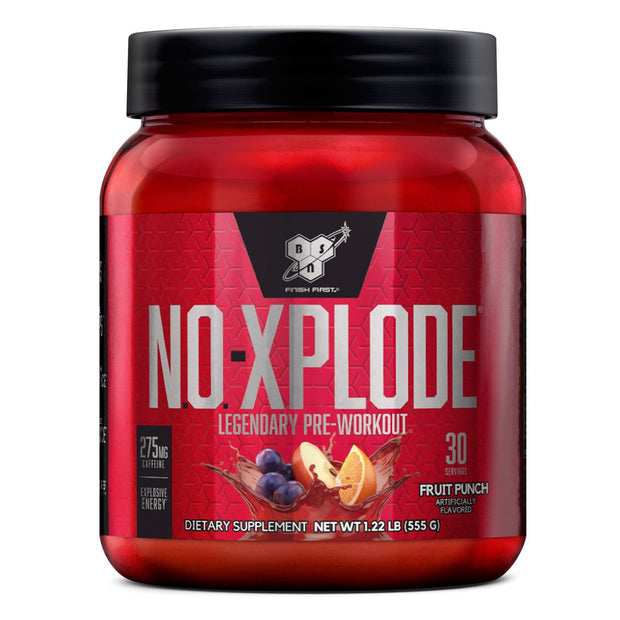 BSN NO Xplode Pre Workout Fruit Punch
