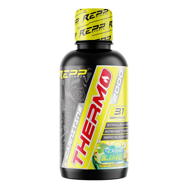 REPP Sports L Carnitine Thermo 2000 Liquid Weight Loss Supplement Baja Lime