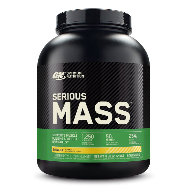 ON Optimum Nutrition Serious Mass Weight Gainer Protein Banana