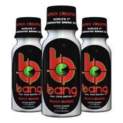VPx Sports BANG Energy Shots Peach Mango