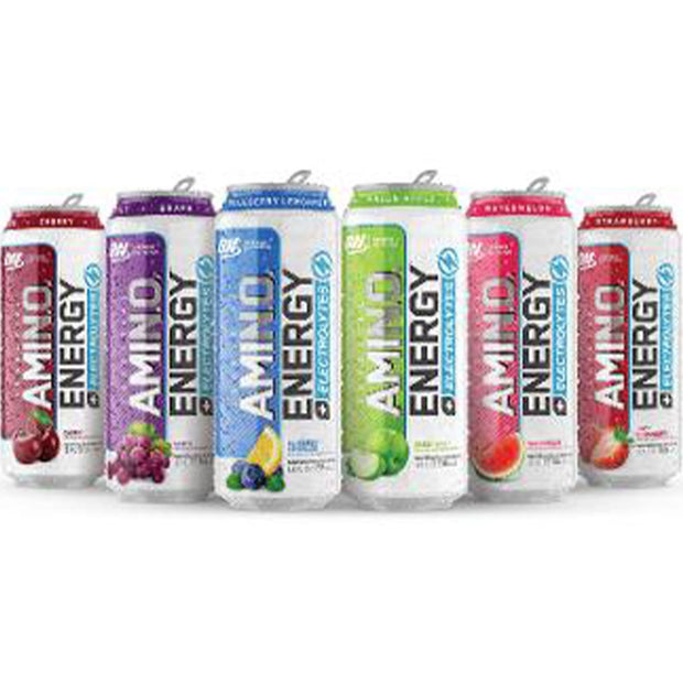 Amino Energy Carbonated Variety Pack