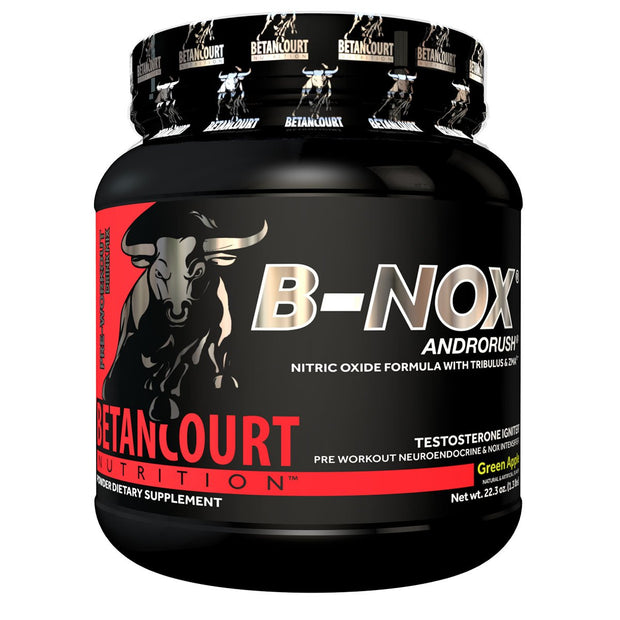 Betancourt Nutrition B-Nox Androrush Pre Workout Green Apple