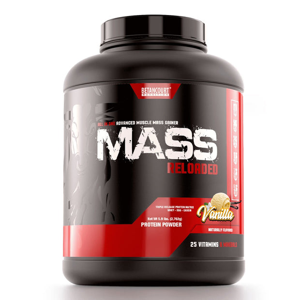 Betancourt Nutrition Mass Reloaded Weight Gainer Vanilla
