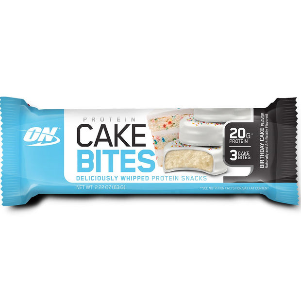 Optimum Nutrition Cake Bites Birthday Cake
