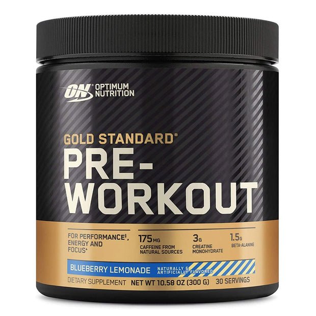 ON Optimum Nutrition Gold Standard Pre Workout Powder Supplement Blueberry Lemonade