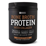 Sports Research Bone Broth Protein with Collagen Chocolate