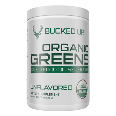 Bucked Up Organic Greens Supplement Unflavored