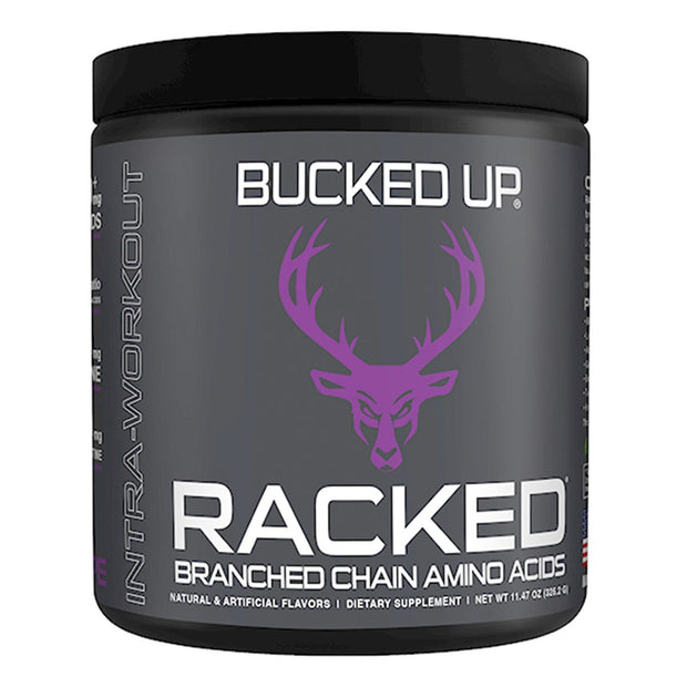 Bucked Up Supplements RACKED Branch Chain Amino Acids BCAA Grape