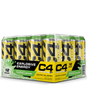 Cellucor C4 Original Carbonated Energy Drink Sparkling Twisted Limeade