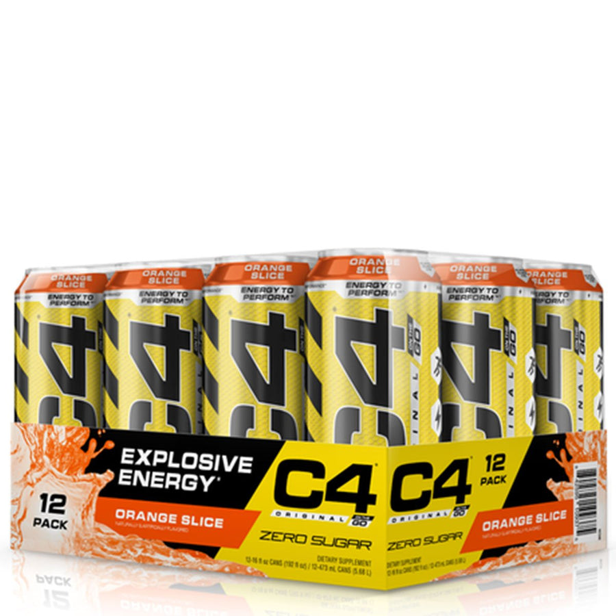 Cellucor C4 Original Carbonated Orange Slice