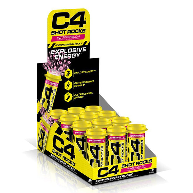 Cellucor C4 Shot Rocks Pre Workout Watermelon