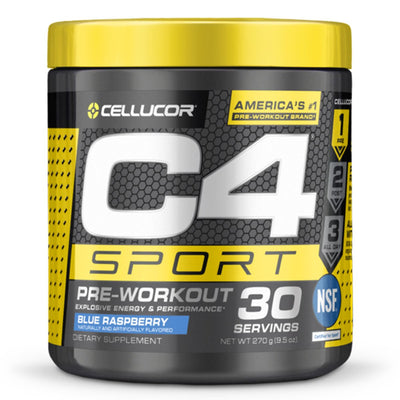 Cellucor C4 Sport Pre Workout Blue Raspberry